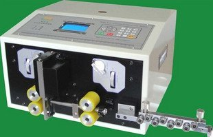 Automatic Computer Stripping Machine, Wire Cutting & Stripping Machine 0.2-2.5MM Two Wheel Drive