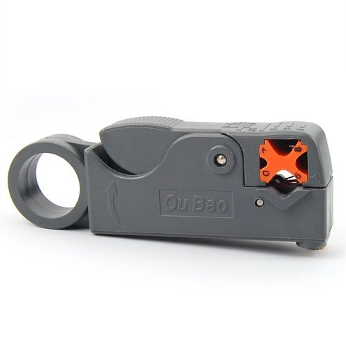 HM Rotary Coaxial Cable Tool Cable Cutter Stripper Wire Cutter Stripper