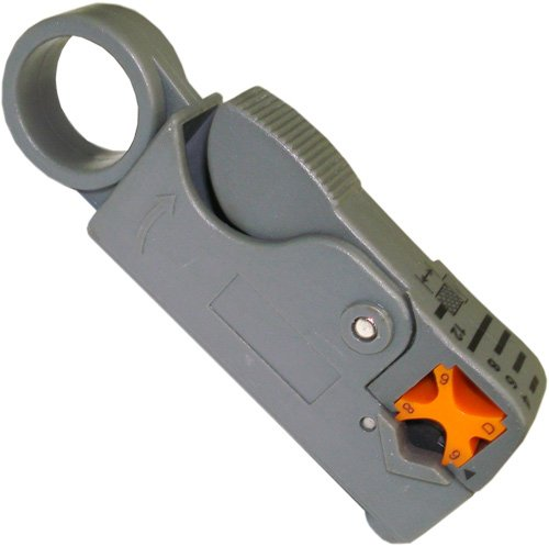 Precision Coaxial Cable Stripper RG58RG59 RG62 & RG6 Thumb Wind-Style