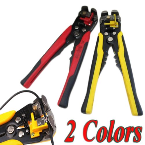 3 in 1 Automatic Cable Wire Stripper Self Adjusting Crimper Terminal Cutter Tool