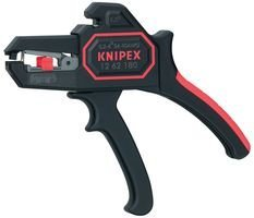 Knipex 1262180 Self Adjusting Insulation Strippers – Awg 10-24, 7.25 Inch