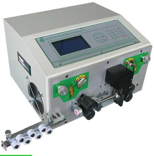 Gowe® Heavy-duty Wire Stripping and Cutting Machine, Can Process Upto Awg4 Wires