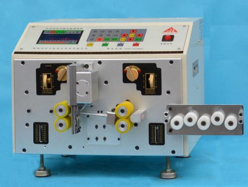 Gowe® Double Wire Stripping Machine, Computer Wire Cutting Stripping Machine AWG14 #-AWG32 #