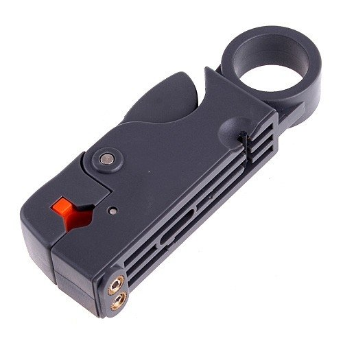 Siam Circus Coax Cable Cutter Wire Stripper Stripping Tool for RG6 RG59 RG5 TV Satellite