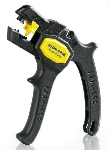 Jokari 20050 Ergonomic Super 4 Plus Automatic Wire Stripper for Wires from 0.2mm-6mm, 16.5cm L x 14cm W x 2.7cm H