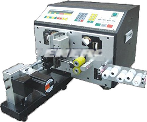 Ten-high Automatic Wire Cutting Stripping Twisting Machine, Cable stripper twister, PC controlled