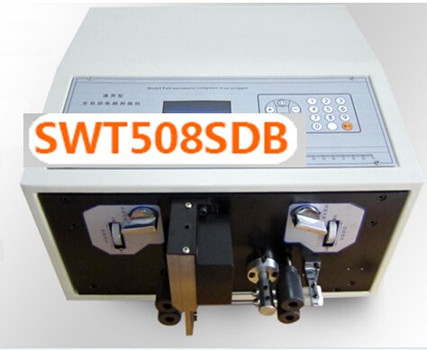LCD Automatic Computer Wire Cutting and Stripping Machine Stripper SWT508-SDB 4-wheel drive