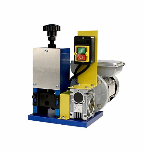 PS Automatic Benchtop Wire Stripping Machine, 110V 50-60Hz 1/4 hp Motor for Scrap Copper Wire Up to 1″