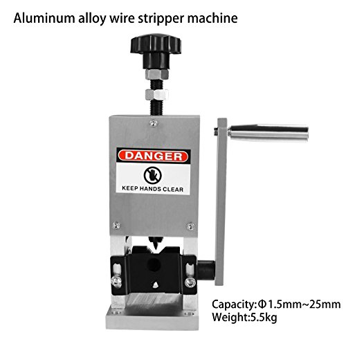 CNlinkco® Manual Cable Stripper Desktop Copper Wire Stripping Machine Father's Day Gift