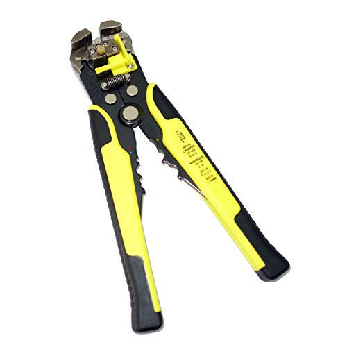 Molshine Self-Adjusting 3-in-1 Automatic Wire Stripper, Cutter and Crimping Tool-Professional Precision Multi-Function Hand Tool