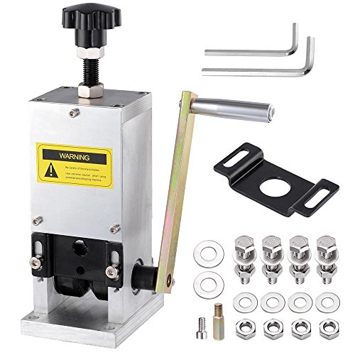 Yescom Manual Wire Stripping Machine Copper Cable Peeling Stripper w/ Drill Connector