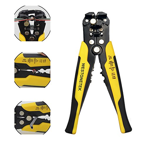 Professional Heavy Duty Self Adjusting Wire Stripper Cutter Cable Crimper Automatic Plier Terminal Tool