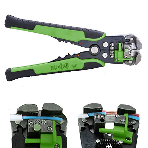 Cibo Hot Automatic Wire Stripper Crimping Pliers Multifunctional Terminal Tool Dint (Green)