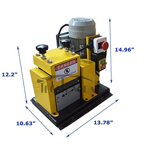110v 370W Automatic Wire Stripper Stripping Machine Scrap Copper