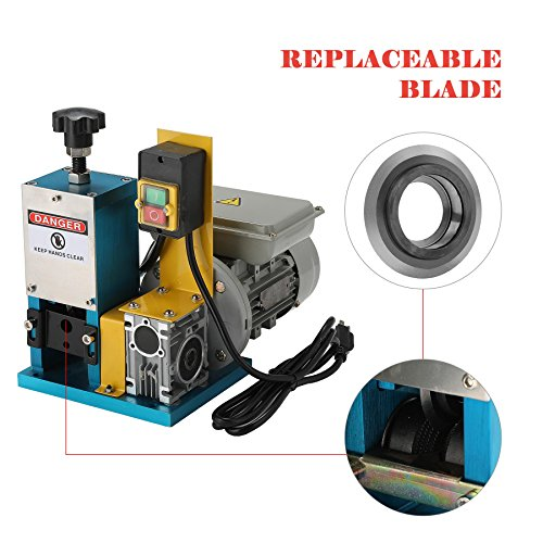 Electric Wire Stripping Machine Portable Scrap Cable Stripper for Scrap Copper
