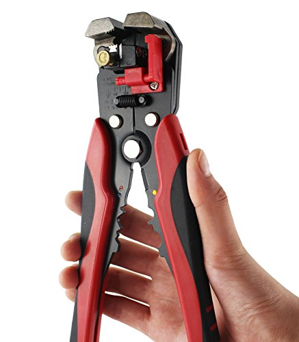 """8/"""" Professional Wire Stripper Crimper Cutter Electrical Stripping Cutting Tool"""